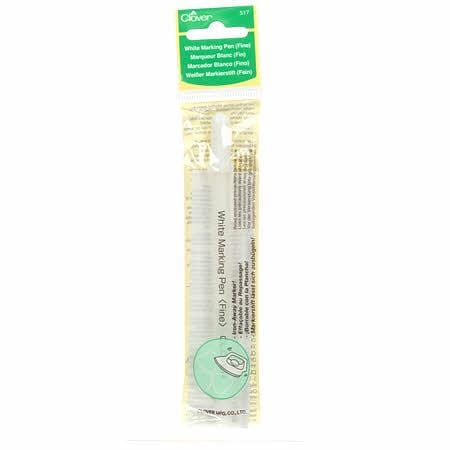 Water Soluble Marking Pen - White