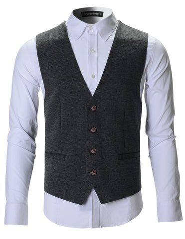 Mens Designer Stylish Casual Vest Premium (VE701)