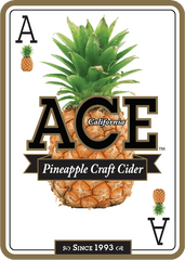 (12pk cans)-ACE Pineapple Cider, California, USA (12oz)