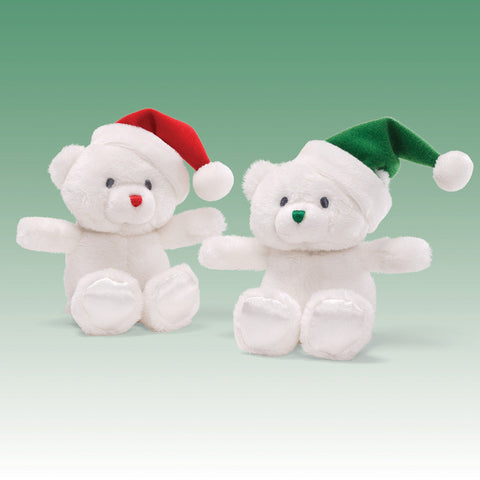 "Baby Gund My First Christmas Teddy Bear Rattle 5"" #4029225"