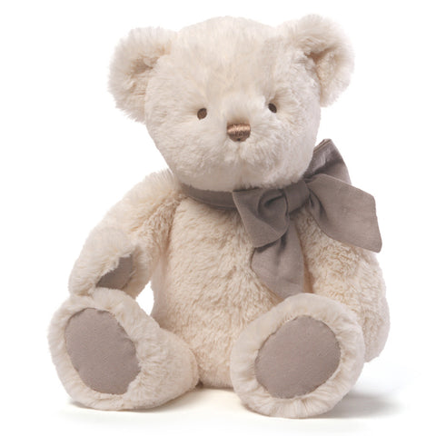 "Baby Gund Amandine Plush Cream Teddy Bear 15"" #4043885"