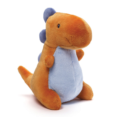 "Baby Gund Crom Plush Dino In Orange 10.5"" #4048448"
