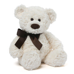 Gund Bearsly Plush White Teddy Bear 18 #4050563
