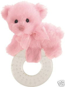 GUND Baby My First Teddy Plush Teddy Bear Pink  - 10""