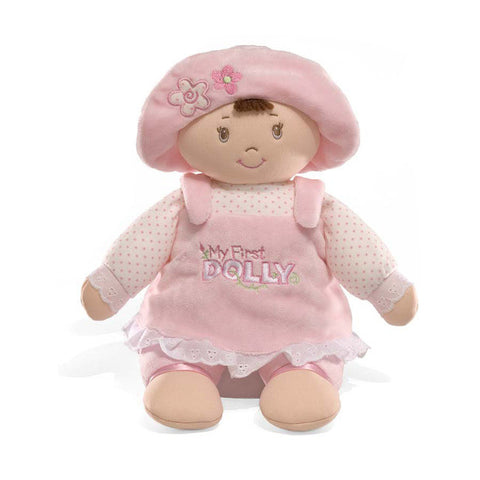 GUND Baby My First Dolly Baby Doll - Brunette - 12""