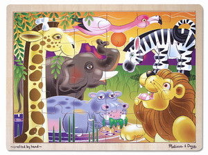 African Plains 24  Piece Wooden Jigsaw Puzzle