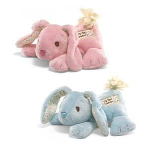 GUND Baby Plush My First Bunny Pink with Chime - #320036