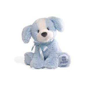 "My First Puppy  8"" Plush Puppy Blue - GUND Baby"