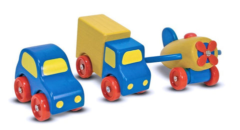 First Vehicles Set - Melissa and Doug