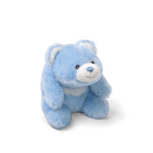 GUND Baby Plush Snuffles Blue Rattle - 5""