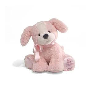"My First Puppy  8"" Plush Puppy Pink - GUND Baby"