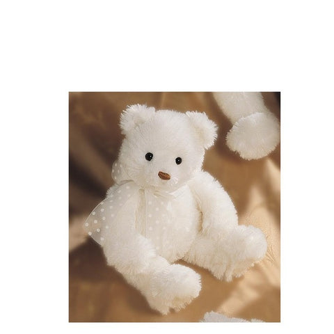 "GUND ""Brighton"" Plush White Bear - 15"""