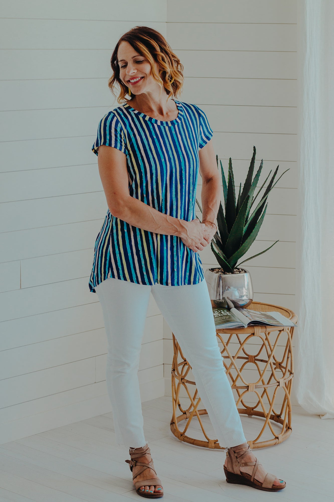 Stella Stripe Top