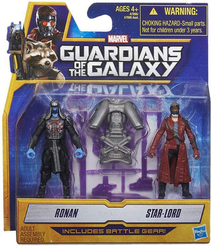 Guardians of the Galaxy - 2-Pack Figures Ronan and Star-Lord