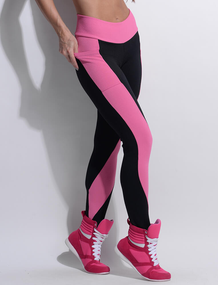Resist Black Brazilian Workout Legging