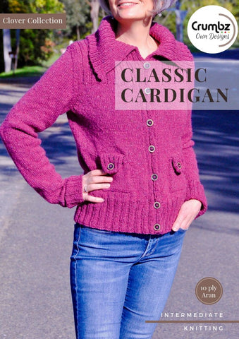 COD018 Classic Cardigan (Digital Pattern)