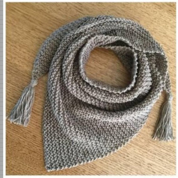 Tassel Scarf Knitting Kit