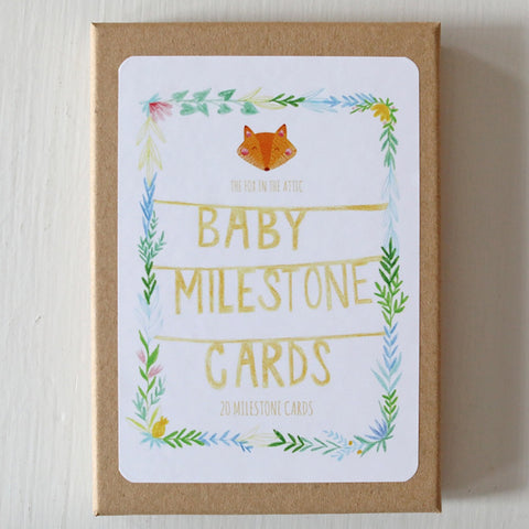 Fox in the Attic - Milestone cards