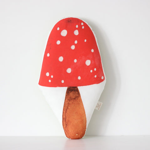 Fox in the Attic - Toadstool cushion