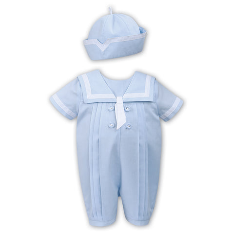 Sarah Louise - Pale blue romper, 011567