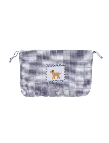 Little English Quilted Cosmetic Bag - Dog