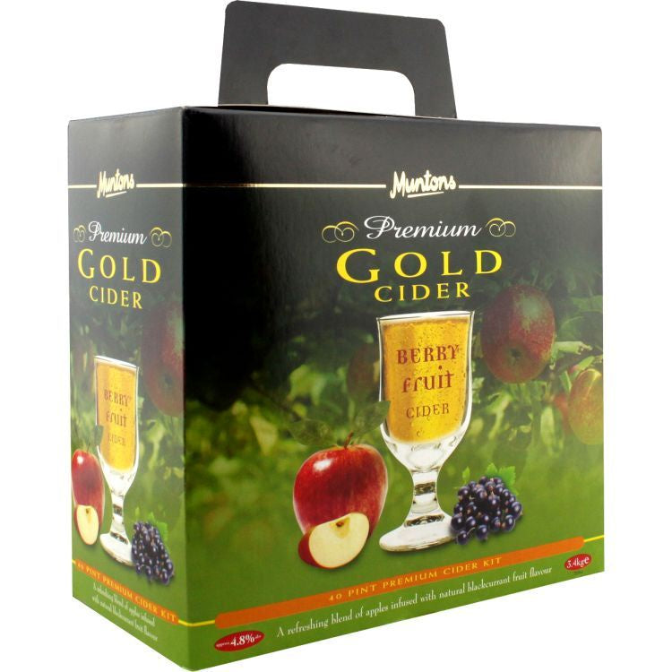 Muntons Premium Gold Berry Fruit Cider 3.4kg