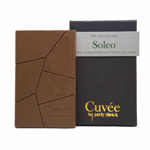 Cuvée Soleo 38% Milk Chocolate 70g Crafted 852 Hong Kong