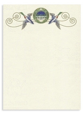 'Pheasant' Stationery 10 sheets & 10 envelopes`