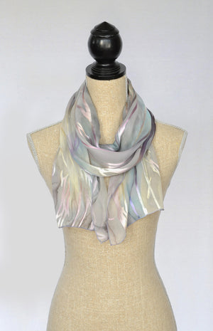 Etched Satin Scarf | Clearance