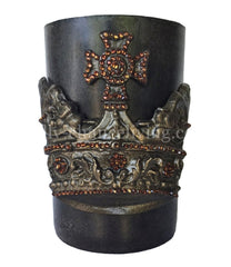 Triple_scented_decorative__brown_candle-roasted_chestnut-6x9-bronze_jeweled_crown-sir_olivers-reilly_chance_collection