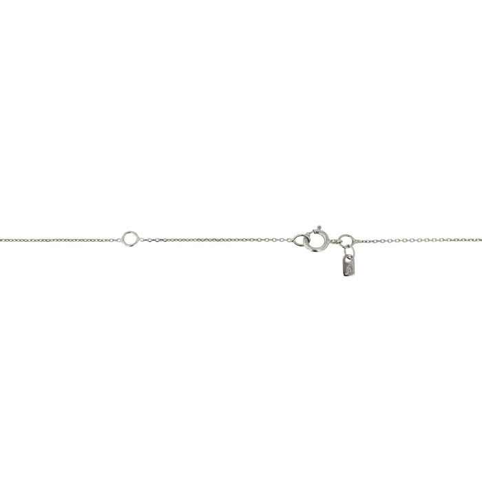 Fragment Fine Chain Necklace Silver | SARAH & SEBASTIAN