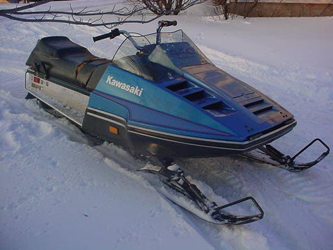 1978-1980 Kawasaki 440 Intruder Snowmobile Repair Manual PDF Download