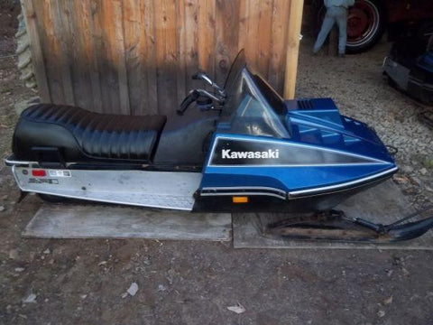 1978 KAWASAKI INTRUDER INVADER SNOWMOBILE REPAIR MANUAL