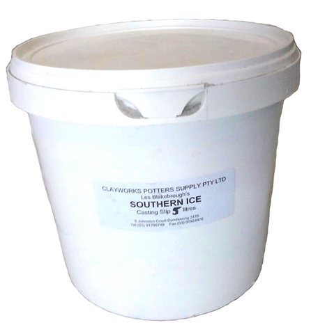Clayworks Clay Southern Ice Slip 5L