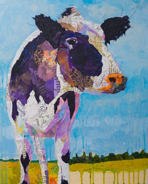 Lazy Afternoon - Cow Art and More