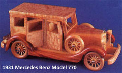 Executive Detailed Classic Auto Patterns by Mail - scroll saw patterns and projects