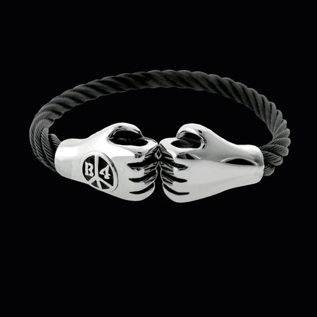 Punching Hands Bracelet- Black
