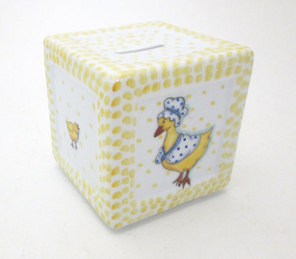 Ann Marie Murray Handpainted Mother Goose Bank