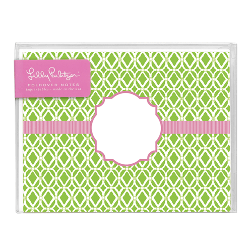 Bamboo Green Folded Notes by Lilly Pulitzer®
