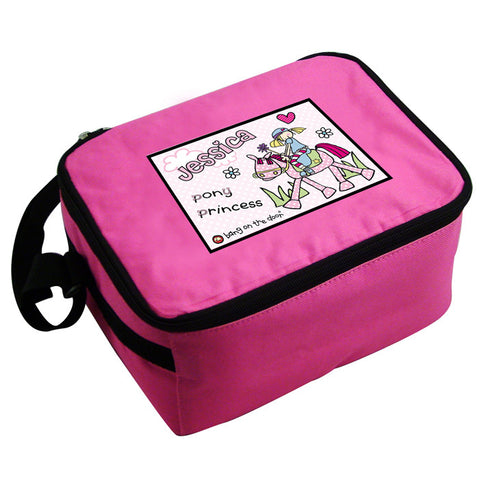Bang on the Door Pony Girl Lunch Bag