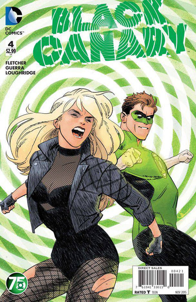 "Black Canary (2015) #4 ""Green Lantern"" Variant"