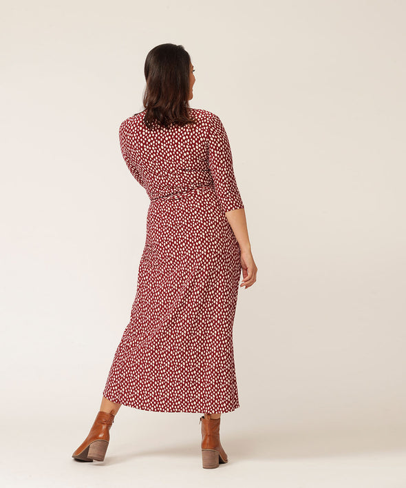 Robin dress in petal