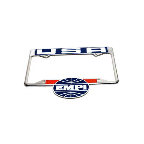 EMPI USA License Plate Frame, Rear, Each