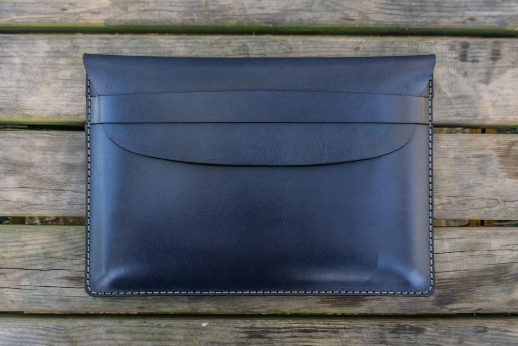 Leather Document Holder - Navy Blue-Galen Leather