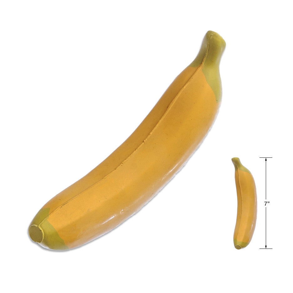 Rubber Banana Toy