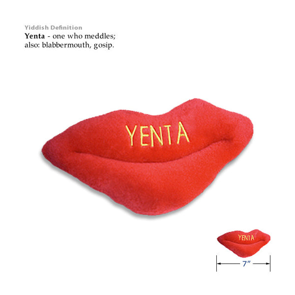Yenta Small Dog Judaica Toy