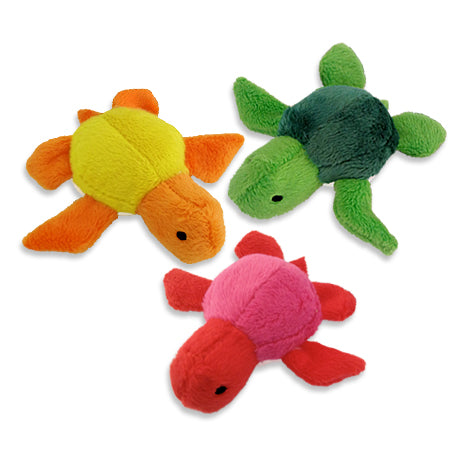 Loopies Teeny Tiny Turtle Toys for Small Dogs