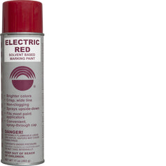 Electric Red Solvent Paint