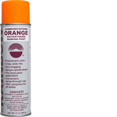 Communications Orange Solvent Paint