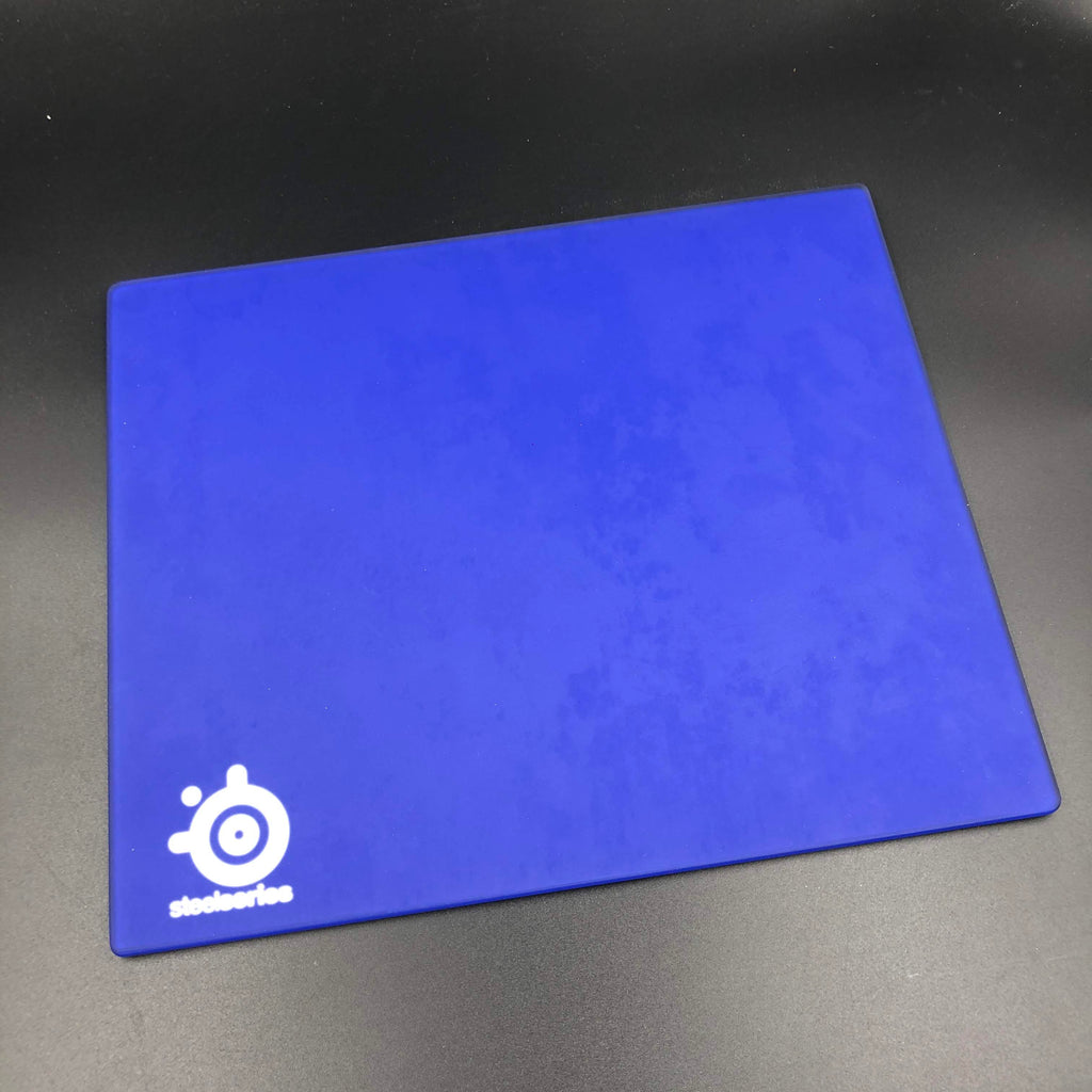 SteelSeries I-2 Glass Mouse Pad - Blue